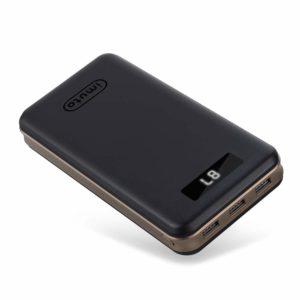 Imuto Batterie externe iPhone haute capacité 27000mAh