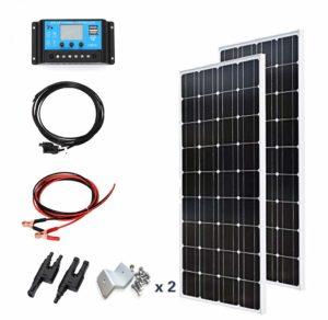 XINPUGUANG kit de panneaux solaires flexibles monocristallin 200w 12v