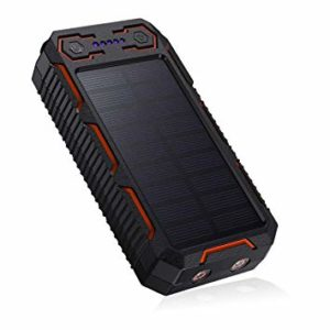 1 chargeur solaire - Chargeur solaire Poweradd Apollo 2 – 26800 mAh