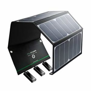 3 chargeur solaire - Chargeur solaire pliable RavPower 24W