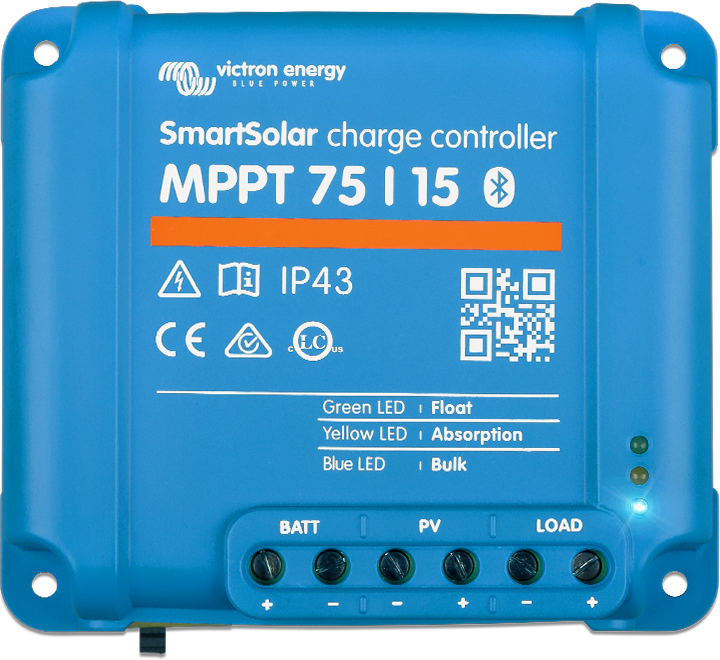 4 régulateur solaire - Smartsolar 75 15