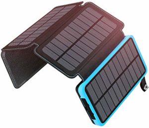 Batterie Solaire - ADDTOP 25000mAh