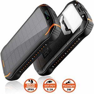 Batterie Solaire - Elzle 26800mAh