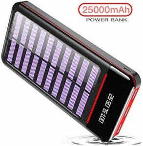 Batterie Solaire - Rleron 25000mAh