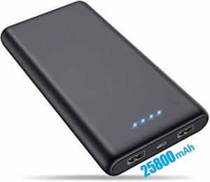Batterie de secours - Trswyop 25800mAh
