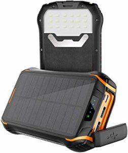 Batterie solaire - Soluser 26800mAh